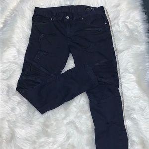 Men Armani Exchange Skinny Biker Pants Size 33